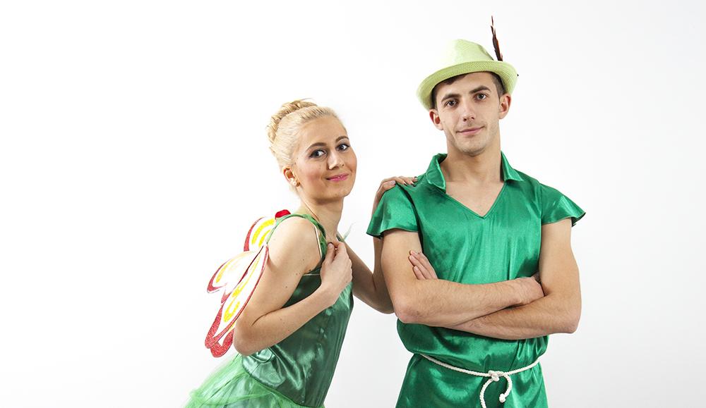 Peter Pan si Tinkerbel (Clopotica)