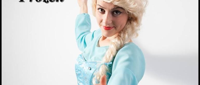 Printesa Elsa din filmul Frozen in Iasi