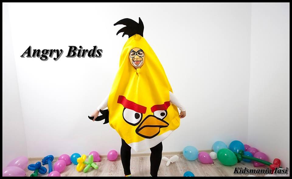 Chuck Angry Birds personaj la petreceri pentru copii in Iasi