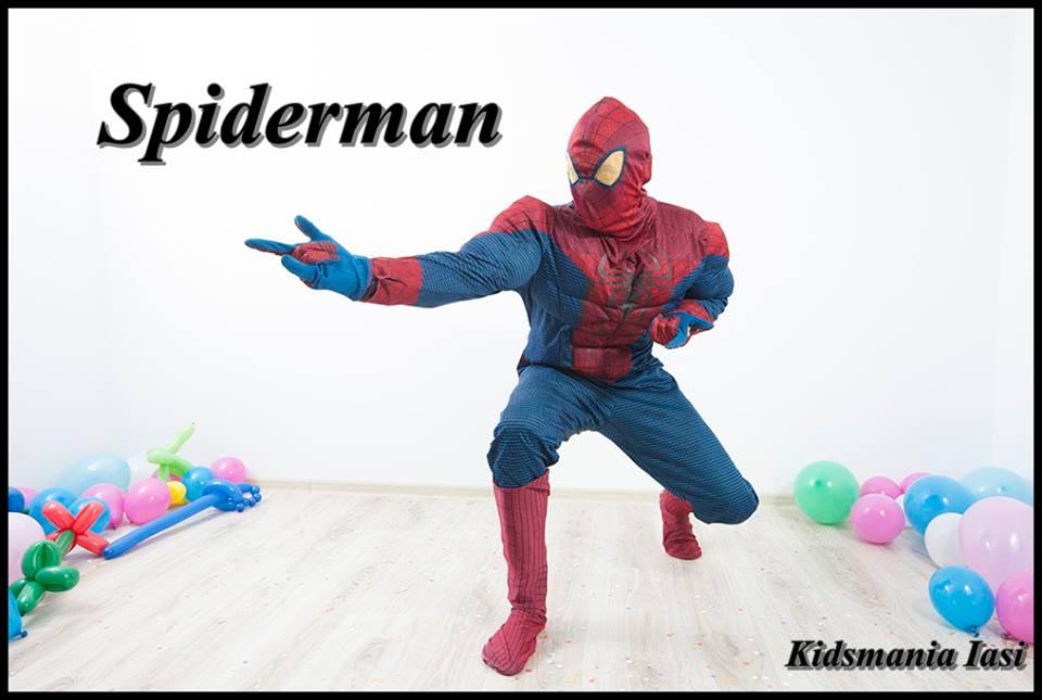 Spiderman - animator la petreceri pentru copii by Kids Mania Iasi