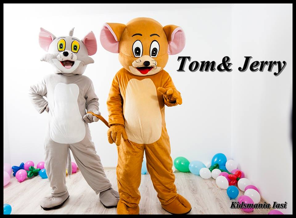 Tom si Jerry - personaje din desenele animate pt copii in Iasi