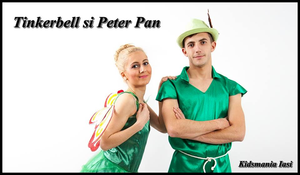 Peter Pan si Clopotica (tinkerbell) in Iasi
