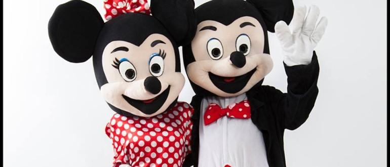 Mickey si Minnie Mouse - mascote pentru petreceri pentru copii in Iasi