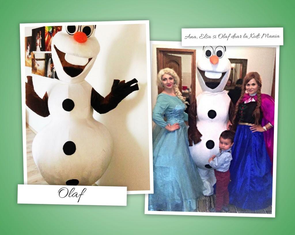 Olaf - mascota la petreceri