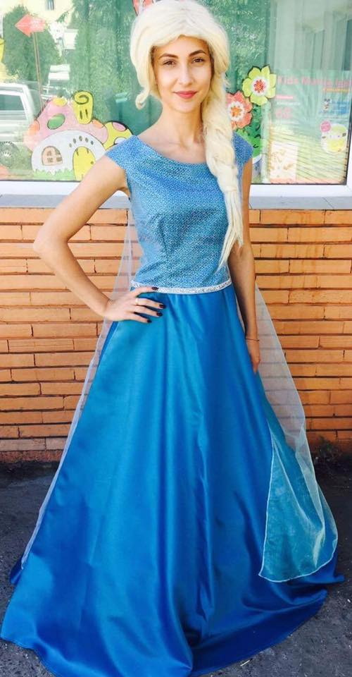 Elsa din regatul de gheata - Frozen in Iasi