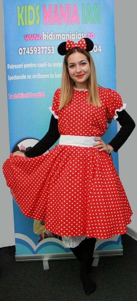 Minnie Mouse rochita noua si fara masca