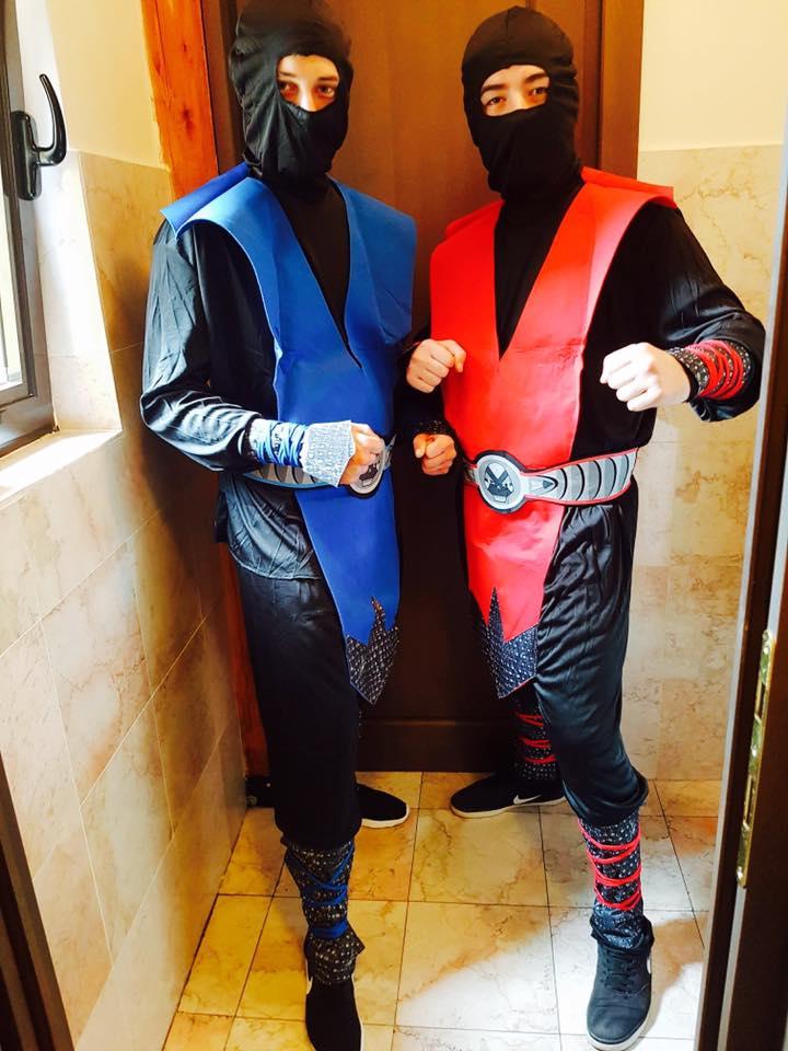 Costum Ninja Mortal Combat Iasi