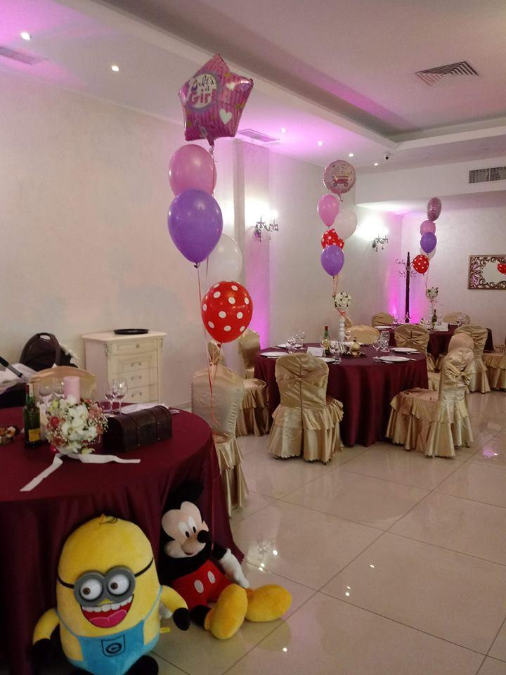 decoratiuni petrecere cu baloane cu heliu