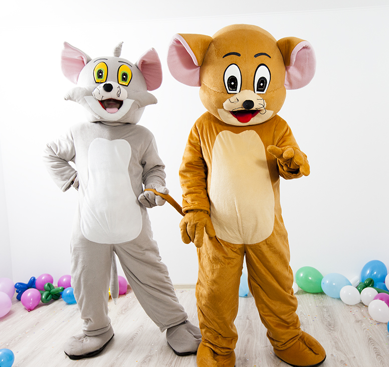 tom si jerry mascote la petreceri pentru copii 2