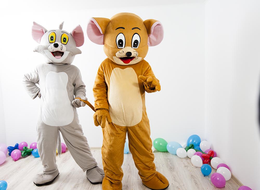 Tom si Jerry animatori in Iasi