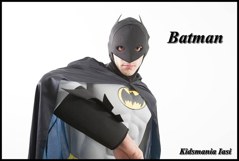 Batman - animatorul super-erou la petreceri pentru copii in Iasi