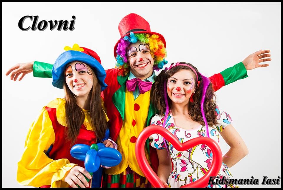 clowni la petreceri pentru copii in Iasi