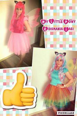 Poneii Pinkie pie si rainbow dash