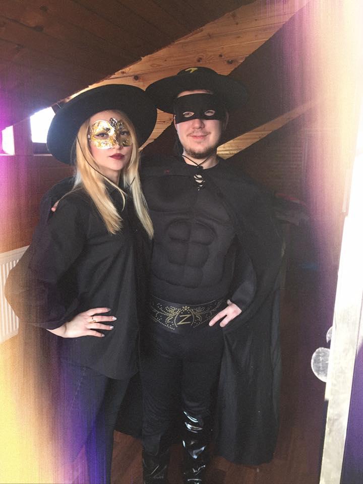 Zorro si prietena lui