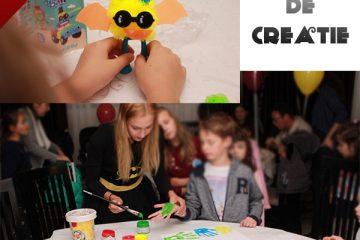 Ateliere de creatie si jocuri de societate in Iasi